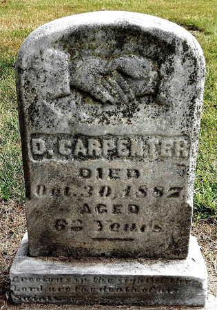 CARPENTER, DANIEL - Calhoun County, Michigan   DANIEL CARPENTER - Michigan Gravestone Photos