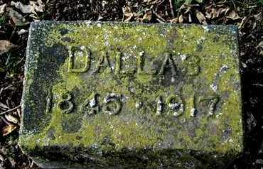 CARPENTER, DALLAS - Calhoun County, Michigan | DALLAS CARPENTER - Michigan Gravestone Photos