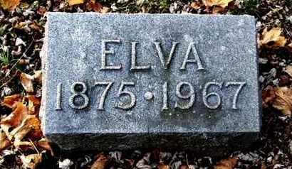 CARPENTER, ELVA - Calhoun County, Michigan   ELVA CARPENTER - Michigan Gravestone Photos