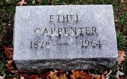 CARPENTER, ETHEL - Calhoun County, Michigan   ETHEL CARPENTER - Michigan Gravestone Photos