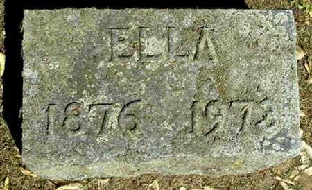CARPENTER, ELLA - Calhoun County, Michigan | ELLA CARPENTER - Michigan Gravestone Photos