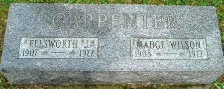 CARPENTER, MADGE - Calhoun County, Michigan | MADGE CARPENTER - Michigan Gravestone Photos