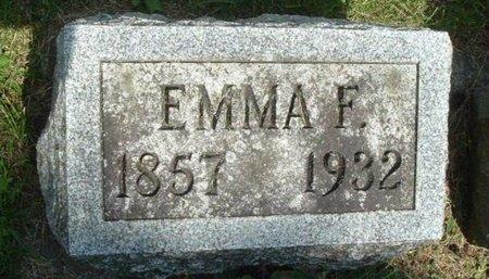CARPENTER, EMMA F - Calhoun County, Michigan   EMMA F CARPENTER - Michigan Gravestone Photos