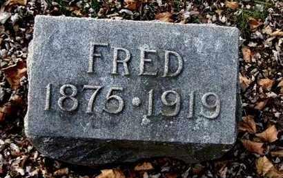 CARPENTER, FRED - Calhoun County, Michigan | FRED CARPENTER - Michigan Gravestone Photos