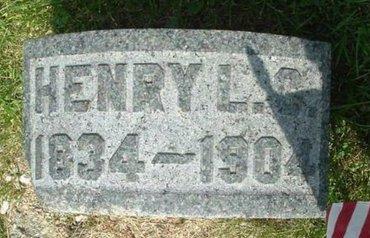 CARPENTER, HENRY L - Calhoun County, Michigan | HENRY L CARPENTER - Michigan Gravestone Photos