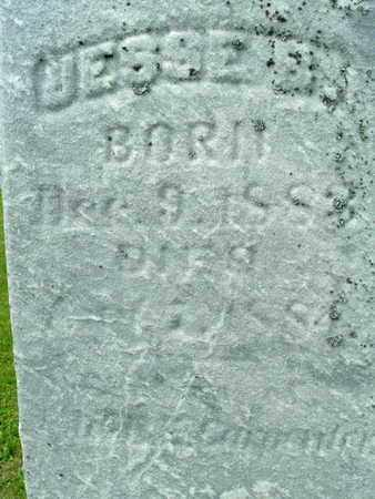CARPENTER, JESSE - Calhoun County, Michigan   JESSE CARPENTER - Michigan Gravestone Photos