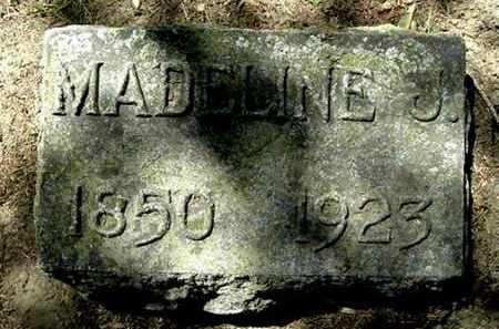 CARPENTER, MADELINE J - Calhoun County, Michigan | MADELINE J CARPENTER - Michigan Gravestone Photos