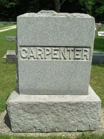 CARPENTER, MONUMENT - Calhoun County, Michigan | MONUMENT CARPENTER - Michigan Gravestone Photos