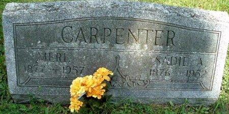 CARPENTER, MERL - Calhoun County, Michigan | MERL CARPENTER - Michigan Gravestone Photos