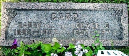 CARR, GRACE O - Calhoun County, Michigan | GRACE O CARR - Michigan Gravestone Photos