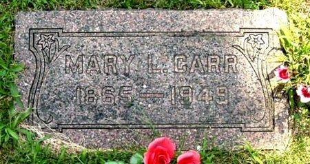 CARR, MARY L - Calhoun County, Michigan | MARY L CARR - Michigan Gravestone Photos