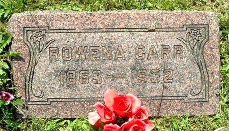 CARR, ROWENA - Calhoun County, Michigan | ROWENA CARR - Michigan Gravestone Photos