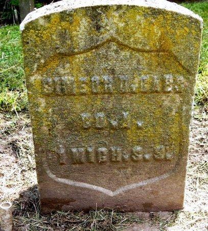 CARR, SIMEON D - Calhoun County, Michigan   SIMEON D CARR - Michigan Gravestone Photos