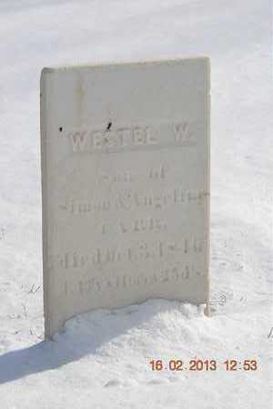 CARR, WESTEL W. - Calhoun County, Michigan | WESTEL W. CARR - Michigan Gravestone Photos