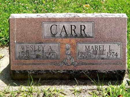CARR, WESLEY A. - Calhoun County, Michigan | WESLEY A. CARR - Michigan Gravestone Photos