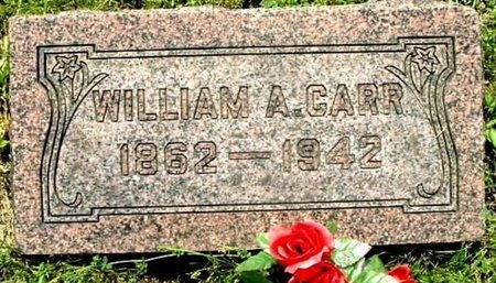 CARR, WILLIAM A - Calhoun County, Michigan | WILLIAM A CARR - Michigan Gravestone Photos