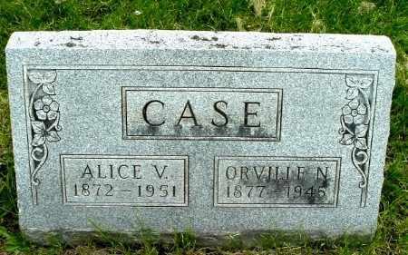 CASE, ALICE V - Calhoun County, Michigan | ALICE V CASE - Michigan Gravestone Photos