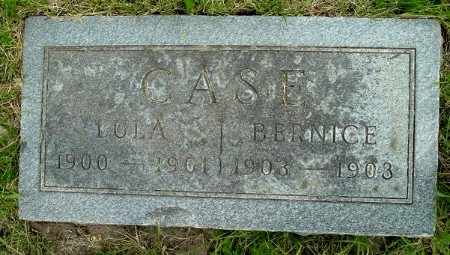 CASE, BERNICE - Calhoun County, Michigan | BERNICE CASE - Michigan Gravestone Photos