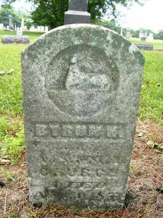 CHURCH, BYRON M. - Calhoun County, Michigan | BYRON M. CHURCH - Michigan Gravestone Photos