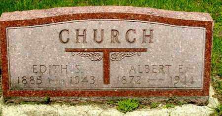 CHURCH, ALBERT E - Calhoun County, Michigan | ALBERT E CHURCH - Michigan Gravestone Photos