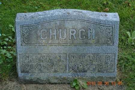 CHURCH, NELLIE B. - Calhoun County, Michigan | NELLIE B. CHURCH - Michigan Gravestone Photos