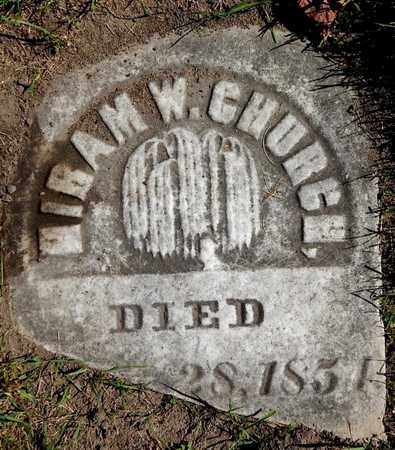 CHURCH, HIRAM W - Calhoun County, Michigan | HIRAM W CHURCH - Michigan Gravestone Photos