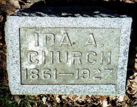 CHURCH, IDA A. - Calhoun County, Michigan | IDA A. CHURCH - Michigan Gravestone Photos