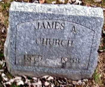CHURCH, JAMES A - Calhoun County, Michigan | JAMES A CHURCH - Michigan Gravestone Photos