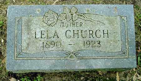 CHURCH, LELA - Calhoun County, Michigan | LELA CHURCH - Michigan Gravestone Photos