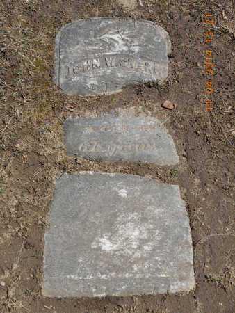 CLARK, JOHN W. - Calhoun County, Michigan   JOHN W. CLARK - Michigan Gravestone Photos