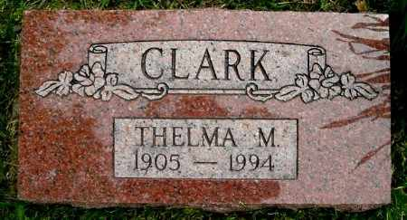 CLARK, THELMA M - Calhoun County, Michigan | THELMA M CLARK - Michigan Gravestone Photos
