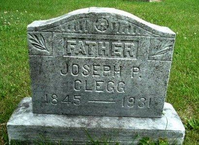 CLEGG, JOSEPH P - Calhoun County, Michigan | JOSEPH P CLEGG - Michigan Gravestone Photos