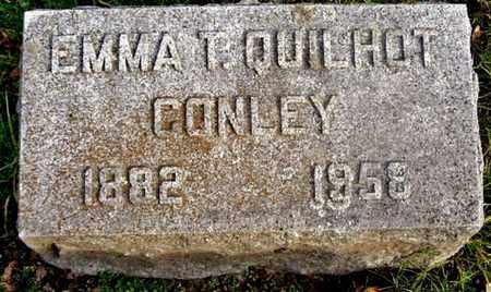CONLEY, EMMA - Calhoun County, Michigan | EMMA CONLEY - Michigan Gravestone Photos