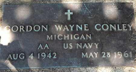 CONLEY, GORDON WAYNE - Calhoun County, Michigan | GORDON WAYNE CONLEY - Michigan Gravestone Photos