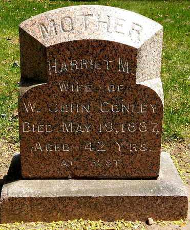 CONLEY, HARRIET M - Calhoun County, Michigan | HARRIET M CONLEY - Michigan Gravestone Photos