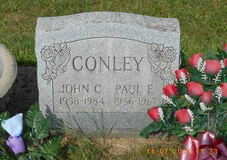 CONLEY, JOHN C. - Calhoun County, Michigan | JOHN C. CONLEY - Michigan Gravestone Photos