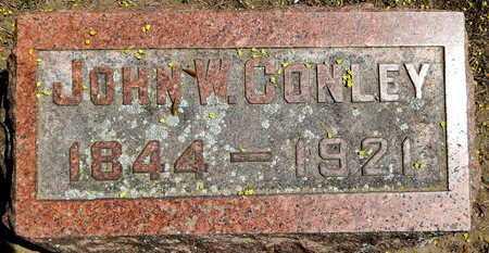 CONLEY, JOHN W - Calhoun County, Michigan   JOHN W CONLEY - Michigan Gravestone Photos