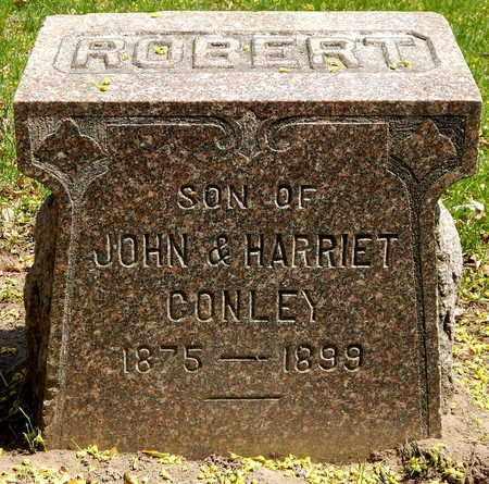 CONLEY, ROBERT - Calhoun County, Michigan   ROBERT CONLEY - Michigan Gravestone Photos