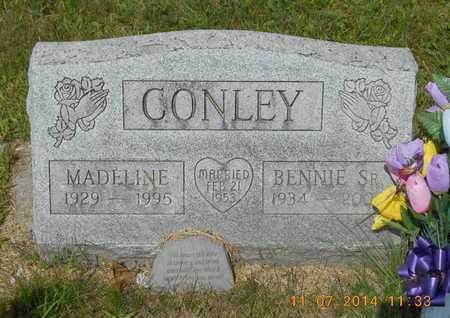 CONLEY, SR., BENNIE - Calhoun County, Michigan | BENNIE CONLEY, SR. - Michigan Gravestone Photos