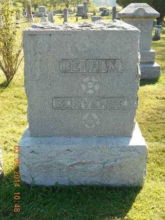 BENHAM, FAMILY - Calhoun County, Michigan | FAMILY BENHAM - Michigan Gravestone Photos