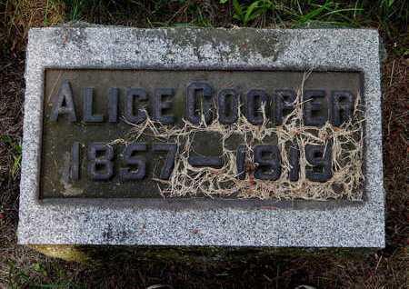 COOPER, ALICE - Calhoun County, Michigan | ALICE COOPER - Michigan Gravestone Photos