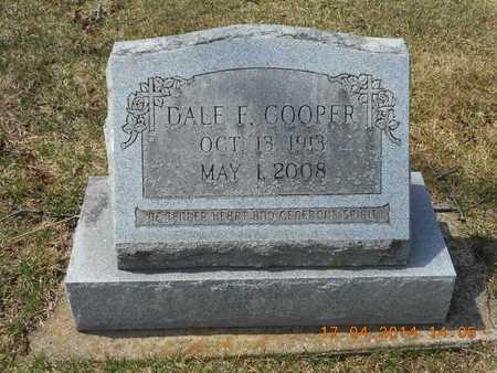 COOPER, DALE F. - Calhoun County, Michigan | DALE F. COOPER - Michigan Gravestone Photos