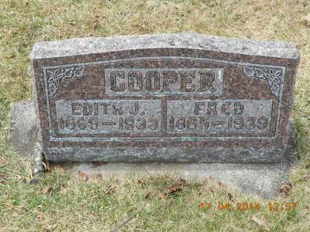 COOPER, EDITH J. - Calhoun County, Michigan | EDITH J. COOPER - Michigan Gravestone Photos