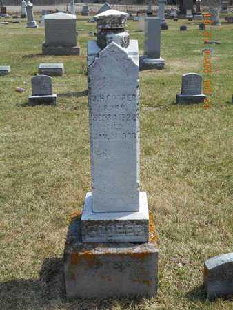 COOPER, FAMILY - Calhoun County, Michigan | FAMILY COOPER - Michigan Gravestone Photos
