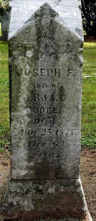 COOPER, JOSEPH F - Calhoun County, Michigan | JOSEPH F COOPER - Michigan Gravestone Photos