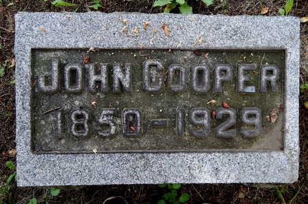 COOPER, JOHN - Calhoun County, Michigan | JOHN COOPER - Michigan Gravestone Photos