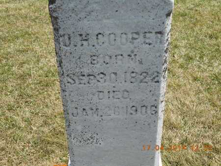 COOPER, O.H. - Calhoun County, Michigan | O.H. COOPER - Michigan Gravestone Photos