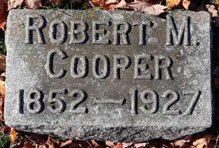 COOPER, ROBERT M - Calhoun County, Michigan | ROBERT M COOPER - Michigan Gravestone Photos