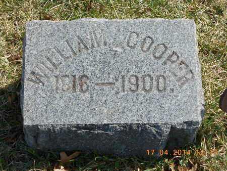 COOPER, WILLIAM - Calhoun County, Michigan | WILLIAM COOPER - Michigan Gravestone Photos