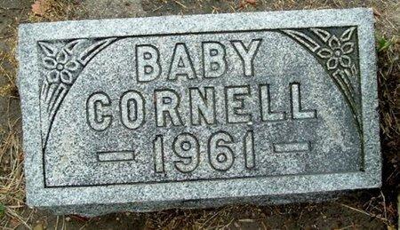 CORNELL, BABY - Calhoun County, Michigan | BABY CORNELL - Michigan Gravestone Photos